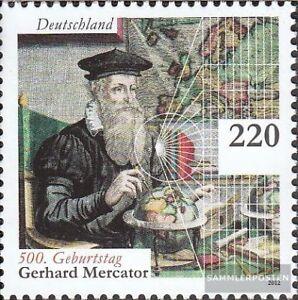 BRD-2918-kompl-Ausg-postfrisch-2012-Gerhard-Mercator
