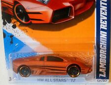 2012 Hot Wheels ALL STARS #121 * LAMBORGHINI REVENTON * SATIN COPPER LAMBO NiCE