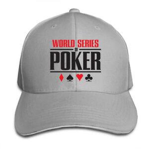 World-Series-of-Poker-Logo-Adjustable-Cap-Snapback-Baseball-Hat