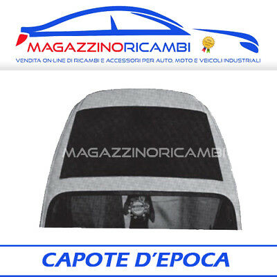 *FRP*CAPOTE A SCACCHI FIAT 500 D F L R SOLO TELA
