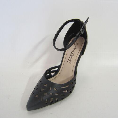 Michelle avec Black Anne à découpes bout Chaussure pointu L2281 5U41qOWw