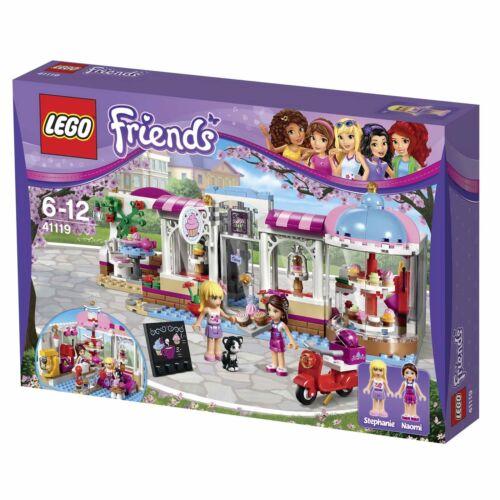 Warranty!! LEGO Friends 41119 Heartlake Cupcake Cafe Set  *VGWC!*