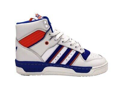 Adidas Baskets Rivalry BlancBleu Orange F34139 | eBay