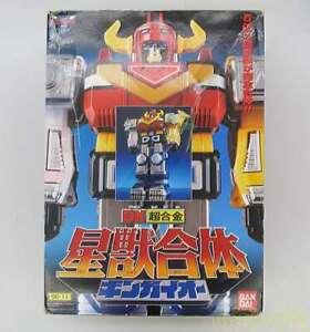 Vintage BANDAI Power Rangers Lost Galaxy GINGAMAN DX GINGAIOH