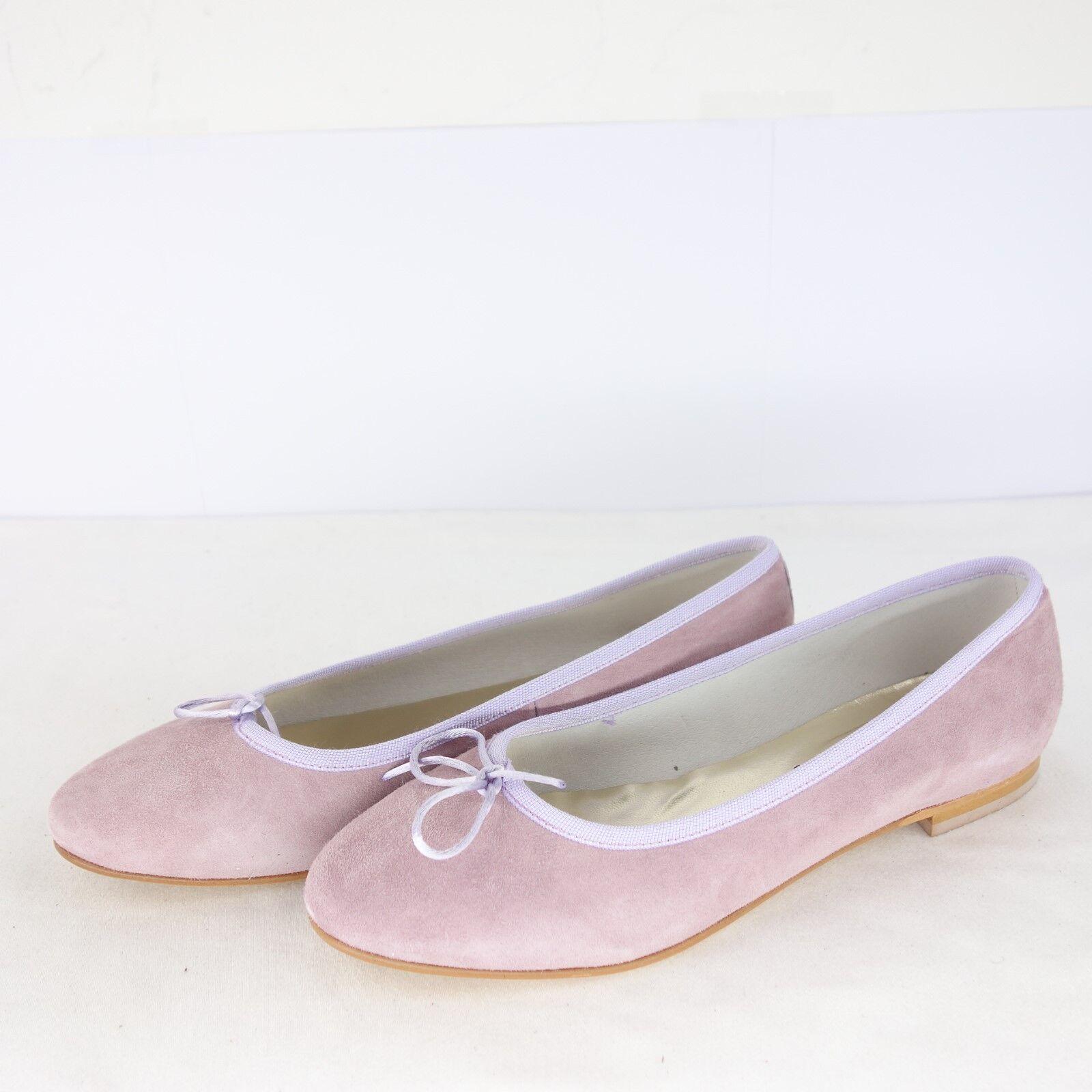 Paoliballerina zapatos señora bailarinas cuero cuero cuero rosadodo serraje bucle NP 139 nuevo  barato en alta calidad