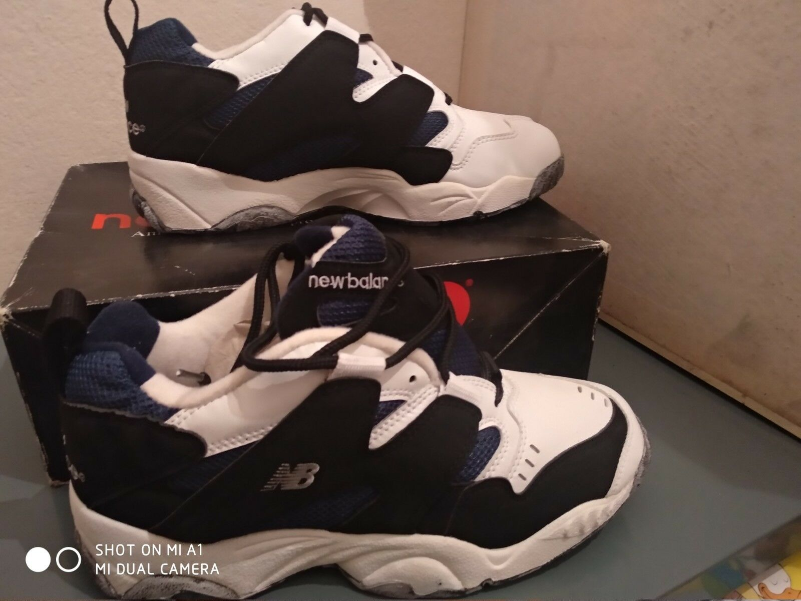 Vintage new balance mx750nv basketball shoes new condition size europe 45 us 11