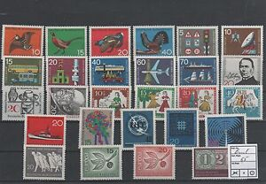 Germany-Federal-Frg-vintage-yearset-Yearset-1965-Mint-MNH-complete-Complete