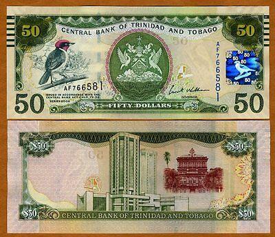 UNC /> Commemorative 2009 Trinidad and Tobago P-52 100 dollars