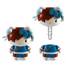 *NEW* Hello Kitty x Street Fighter: Chun Li Mobile Plug by Toynami