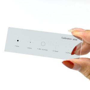 0-01-mm-5-ecailles-Objectif-de-microscope-stage-d-039-etalonnage-lame-de-verre-Micrometre