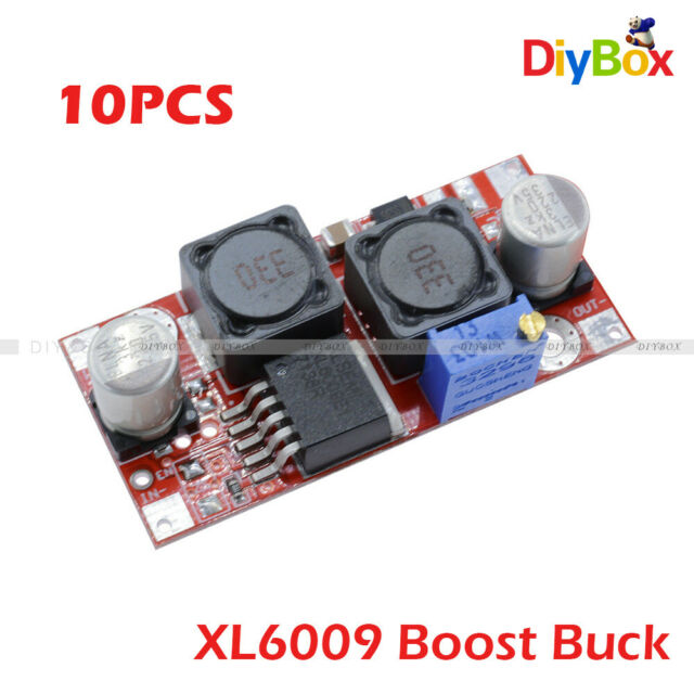 5pcs Boost Buck DC adjustable step up down Converter XL6009 Module Voltage NEW