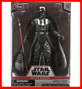 Figurine d'action Star Wars Dark Vador Elite de la série Star Wars - 7   Star Wars Darth Vader Elite Series Die Cast Action Figure - 7'' Disney Store 798257356390