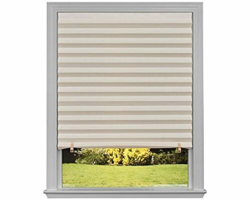 Home Office Window Original Light Filtering Pleated Paper Shade 6-Pack DIY NEW