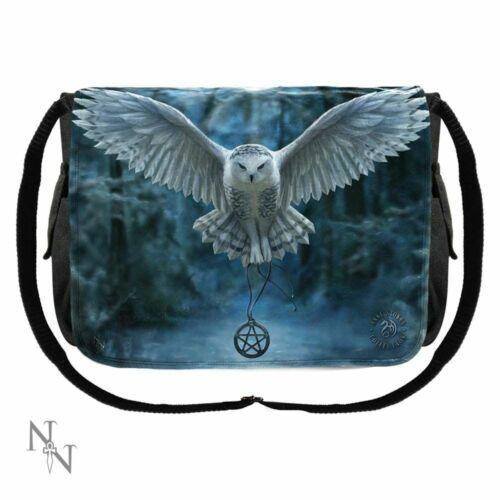 Embossed Shoulder Bag Anne Stoke Lisa Parker Winter Wolves Dragon Mage 25cm