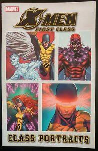 X-MEN-First-Class-1-Portraits-TPB-Trade-Paper-Back-MARVEL-Comics-VF-NM