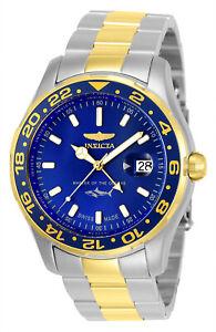 Invicta-25826-Men-039-s-Pro-Diver-Blue-Dial-Two-Tone-Steel-Watch