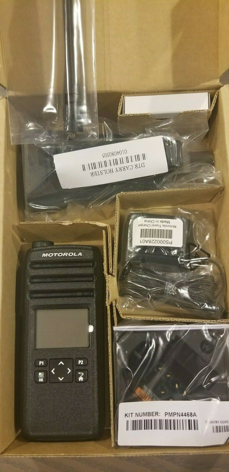 DTR 700 Motorola DTS150NBDLAA Digital Radio DMR Complete Kit **SALE PRICE**. Available Now for 239.00
