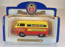 Oxford Die Cast 1/50 VW Bus Brantho Korrux Hamburg Glinde Werbemodell OVP #1885