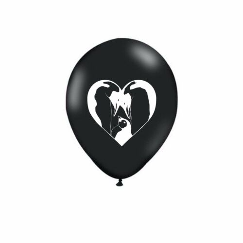 "Valentine/'s Day 12/"" Penguin Heart Love Latex Party Decor Black Balloons 1-100ct"