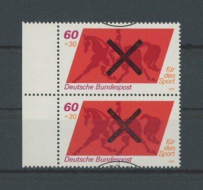 2019 Neuestes Design Brd 1047 Sport 1980 Andreaskreuz !! Rare !! Reiten Dressurreiten Pferd H3380 Entlastung Von Hitze Und Sonnenstich