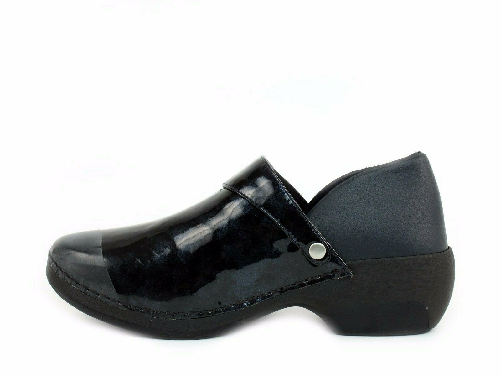 ROCKY 4EurSole Black 3 Styles in 1 Pair Nurse Clogs Slip Resistant 41/10 -10.5