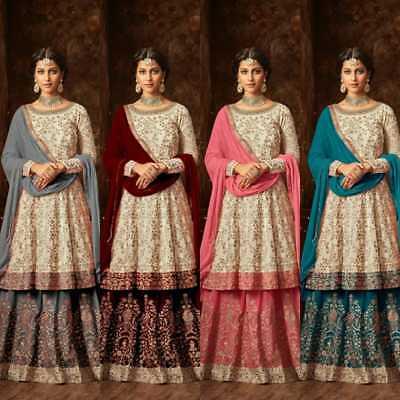 Anarkali Suit Salwar Indian Kameez Designer Pakistani Readymade Shalwar Perfekte Verarbeitung