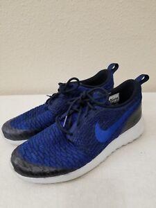 2ddddef784b4b Women s Nike Roshe One Flyknit 704927-403 Navy Roshe Run Shoes Size ...