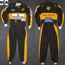 Ayrton Senna 1985 Lotus Formula 1 New Replica Suit JSP S-2XXL,Great Gift