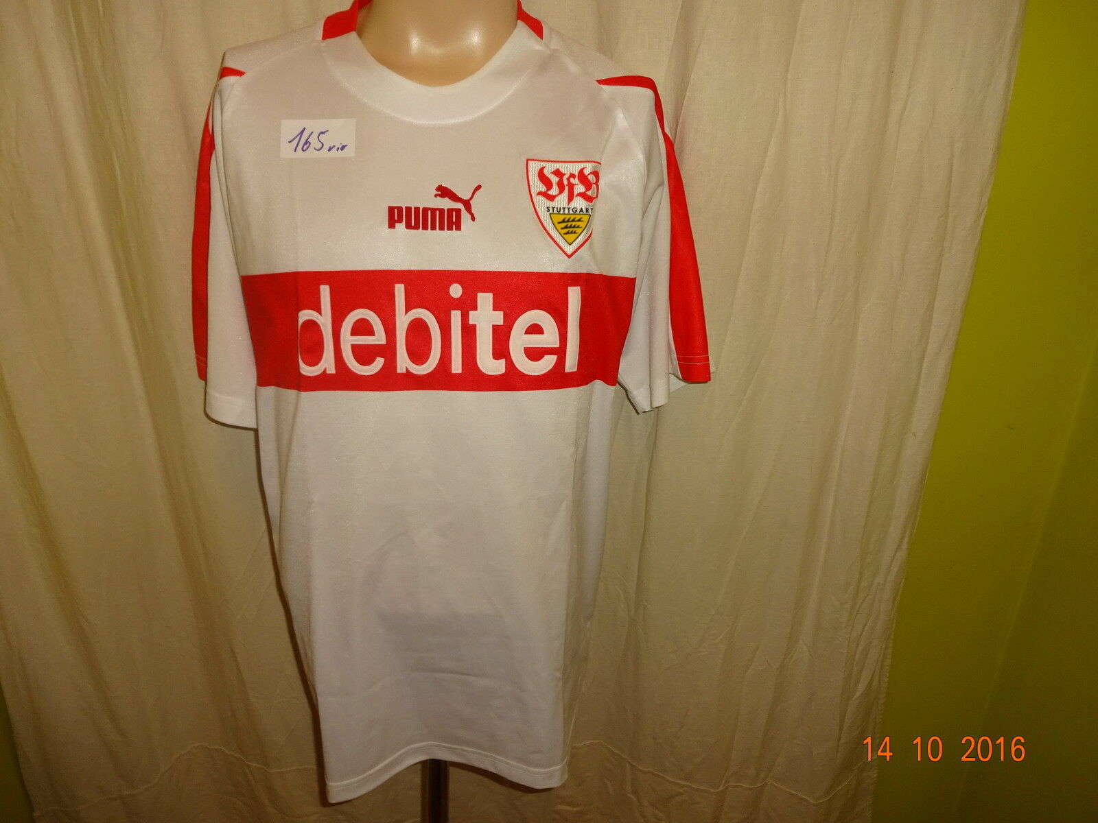 VfB Stuttgart Original Puma Heim Trikot 2002/03