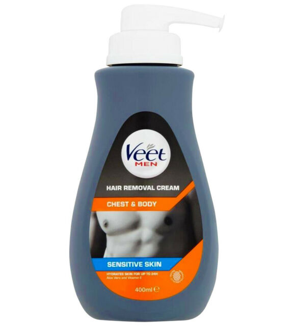 Veet Men Hair Removal Cream Chest Body 400ml For Sale Online Ebay