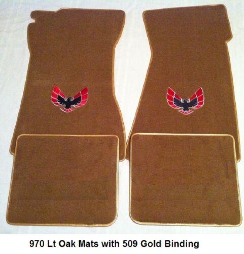Lloyd Mats Pontiac Trans Am Bird Velourtex 4pc Floor Mats 1970-81