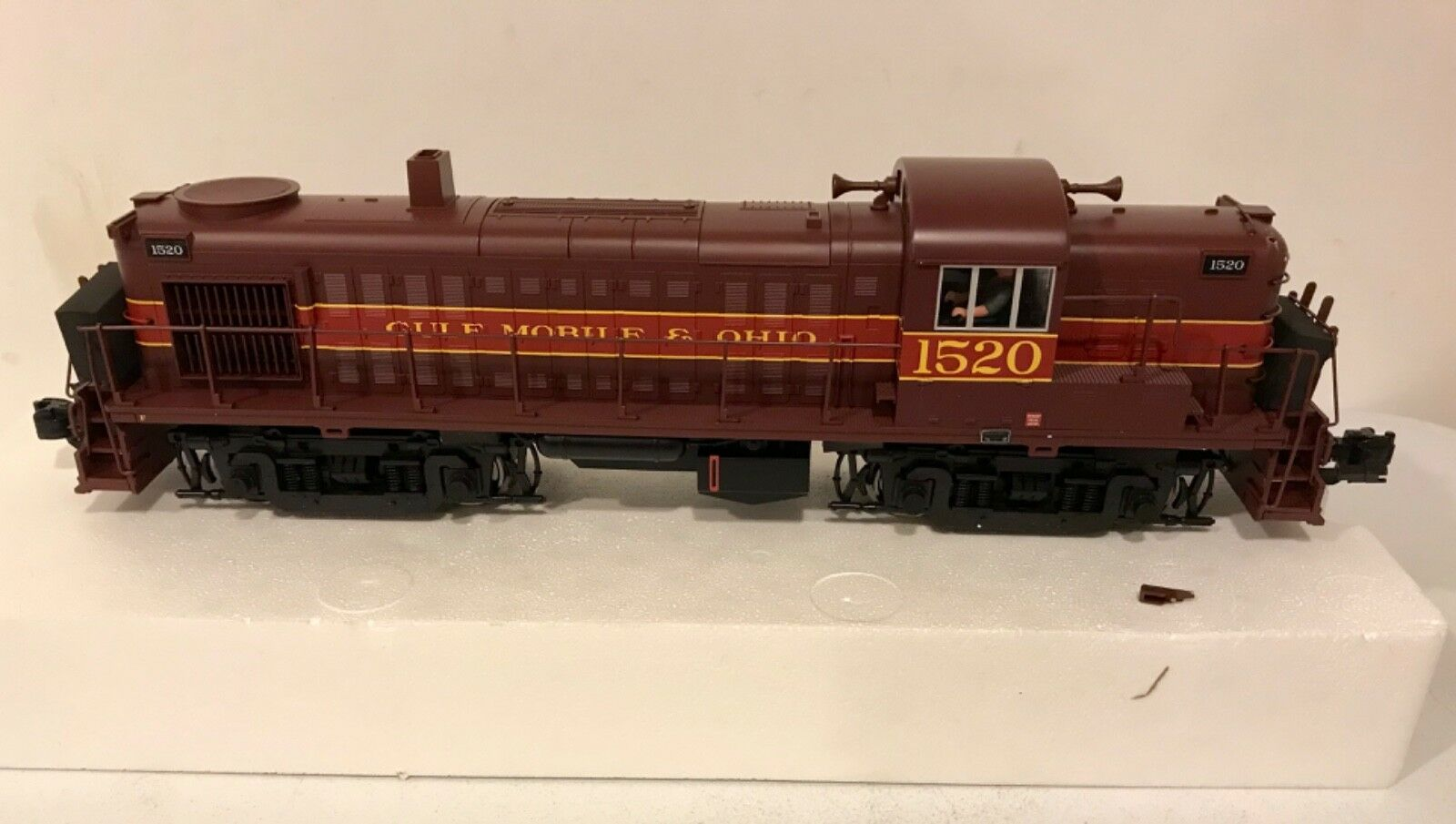 Aristocraft ART-22217-CB-2 Gulf Mobile & Ohio Diesel Locomotive ALCO RS-3