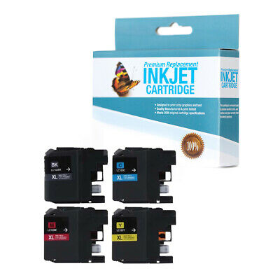 LC103BK LC103C C,M,K,Y,10 Pack LC103Y for Use with DCP-J152W SuppliesOutlet Compatible Ink Cartridge Replacement for Brother LC103 LC103M