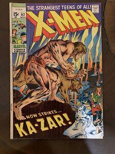 The-X-Men-62-Nov-1969-Marvel