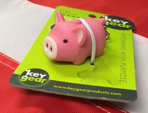 PIG LIGHT LED keygear noveltyGIFT emergency disaster tactical UST christmas