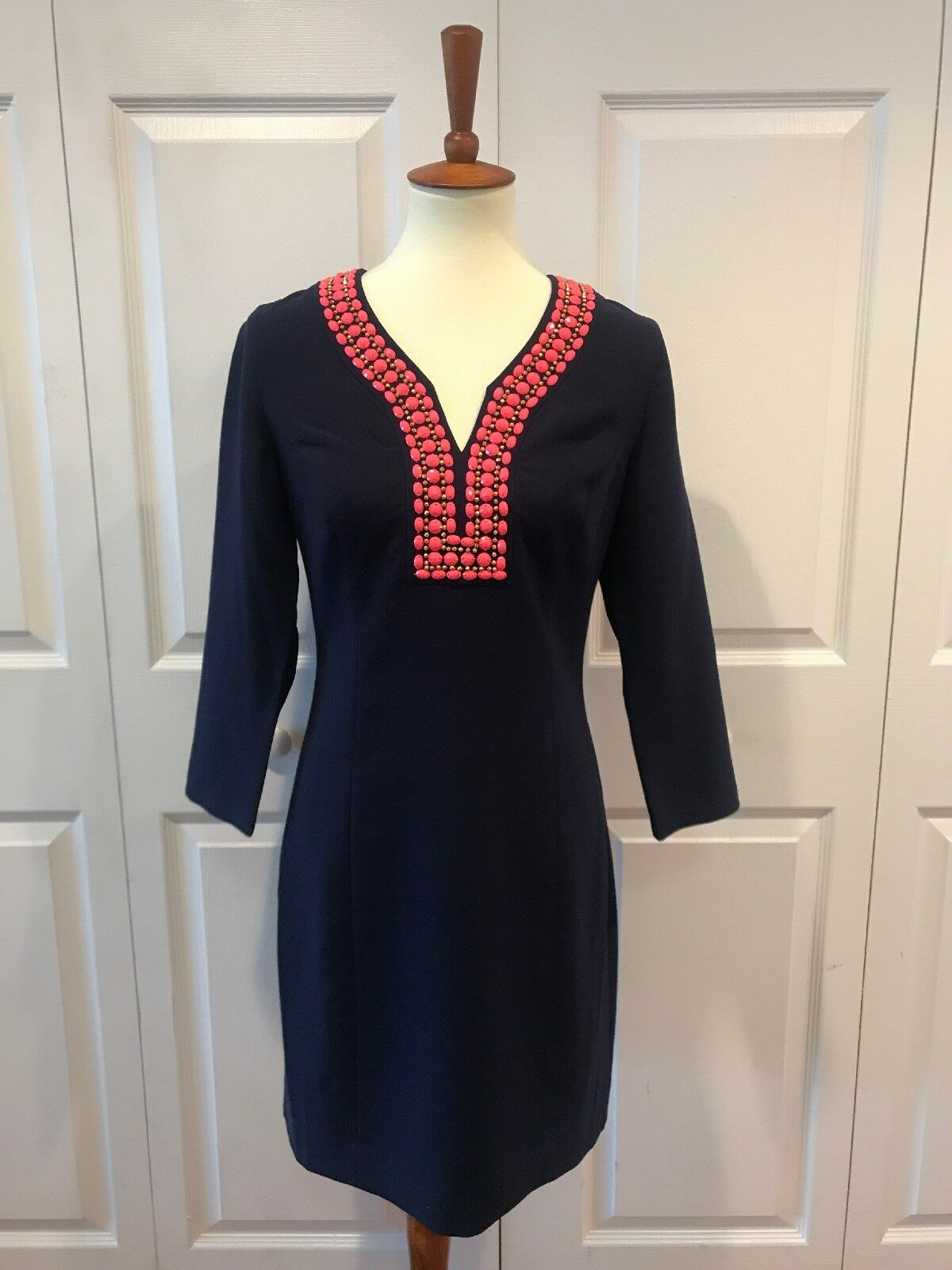 Lily Pulitzer Navy bluee Tunic Dress With Tags, MINT CONDITION