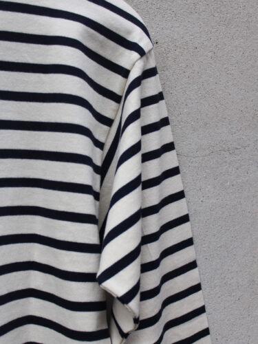 Navy Cream And lux bretón justo Comercio de original Top Armor Stripes Owx6qg0xpn