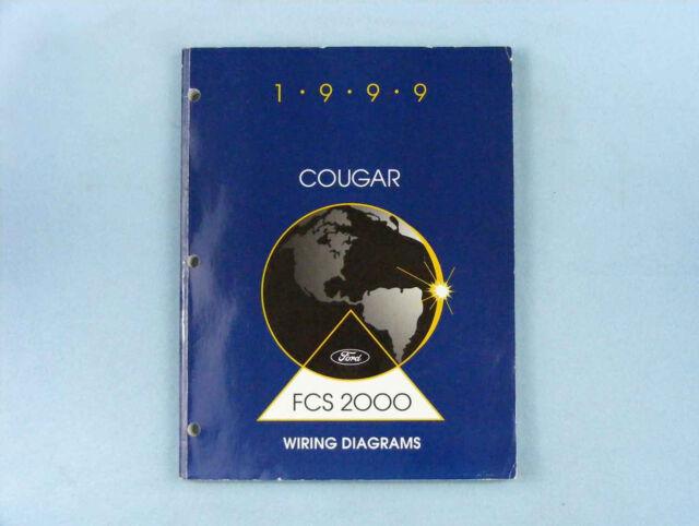 Wiring Diagrams Manual  1999 Mercury Cougar  Fcs