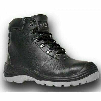 Graft Gear 212 Black High Leg Waterproof Safety Toecap Black Work Boots
