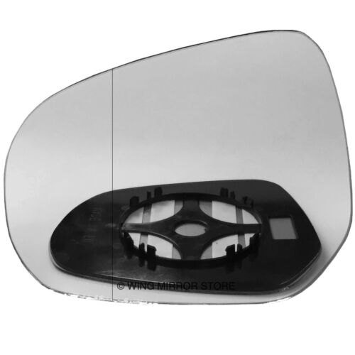 Left side for Vauxhall Agila B 08-16 Wide Angle wing mirror glass clip on