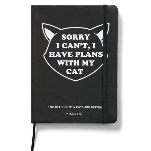 Got Plans Journal Killstar Gothic Goth Okkult Notizbuch Heft Schreibblock