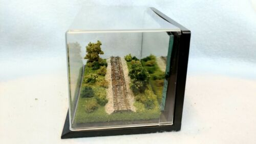 FOR LOCOS OR ROLLING STOCK Z SCALE DISPLAY CUBE FULLY SCENICED VZW04sd