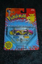 POKEMON PIKACHU MINI SKATEBOARD REMOVABLE WHEELS & WRENCH UNOPENED
