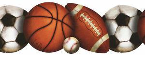 york let s play ball border sports theme bh1759b t8 ebay