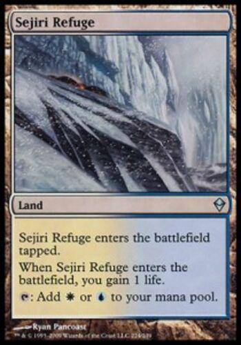 * mrm sejiri refuge mtg zendikar english 4x shelter seijiri