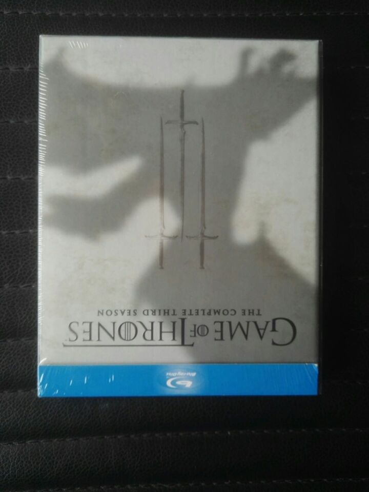 Game of thrones, instruktør The complete third season,