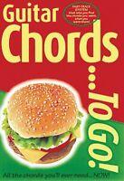 Guitar Chords...to Go Sheet Music Book 014013498