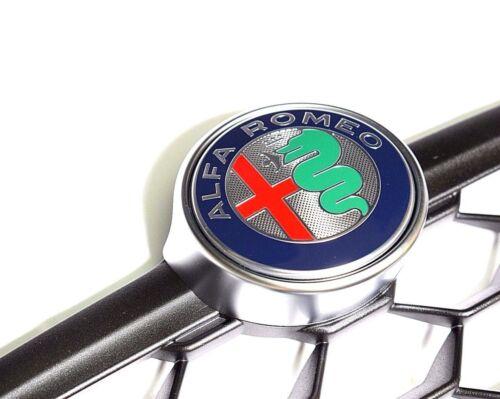 Alfa Romeo Giulietta 2016 /> pare-chocs avant Grille Radiateur Badge /& 156112054 NEUF
