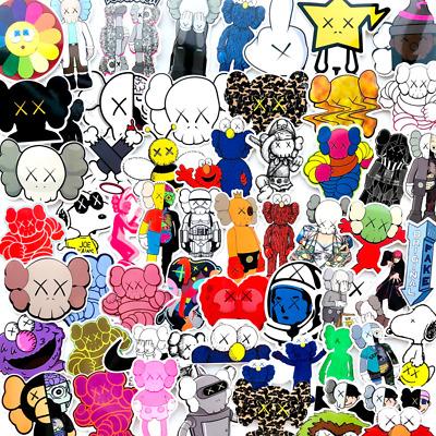Decals Decal Sticker KAWS x Sesame Street STICKERS 12 PCS Set Pack Lot