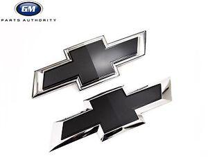 2017 Silverado 3500 gold emblem replacement kit Black